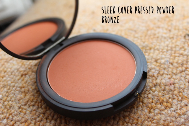 Sleek cover pressed powder Bronze